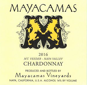 Mayacamas Review: 2016 Chardonnay Strikes Balance Of Richness, Focus With Great Taste