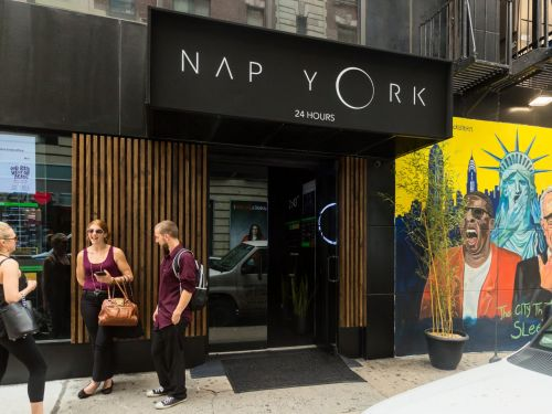 I went inside the NYC napping lounge where people are paying up to $250 a month to nap in dark, private pods at any time of day - here's what they look like