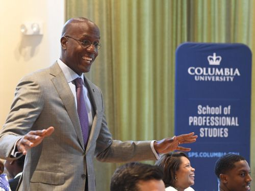 A Columbia dean says corporations need to create a 'chief reskilling' officer to help anticipate the workforce of the future. Here's how the university is preparing its students