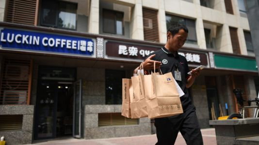 China's Luckin Coffee Tries To Conquer A Nation Of Tea Drinkers