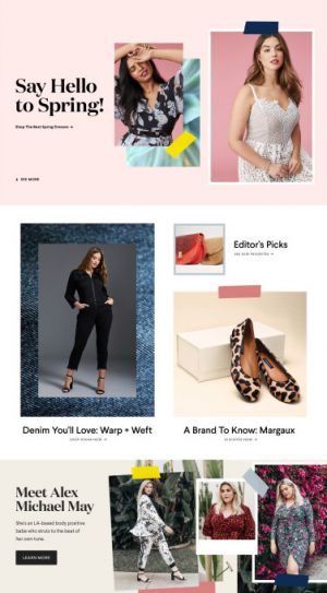 CoEdition raises $4 million from NEA and others for its plus-sized shopping site for women