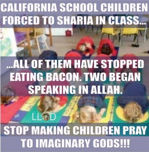 California School Children Being Forced 'To Sharia' In Class Is A Satirical Meme