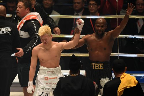Tenshin Nasukawa says he didn't earn the right to fight Floyd Mayweather and underestimated the unbeaten boxer
