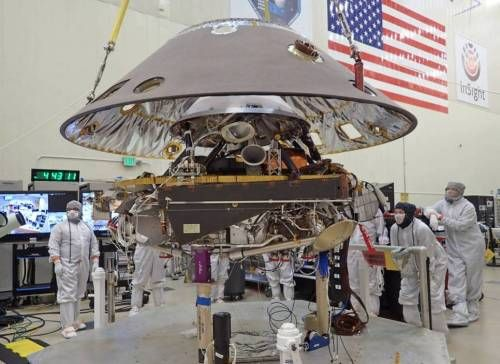 NASA announced that it will send its next lander to Mars, known