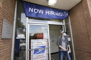 Demand for jobless aid high, even as economy slowly picks up