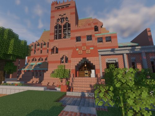 UPenn students recreated their campus on 'Minecraft' in painstaking detail while stuck at home - take a look