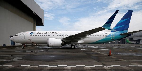 Indonesia's flagship airline moves to cancel $5 billion order for 49 Boeing 737 Max 8 jets after deadly crashes