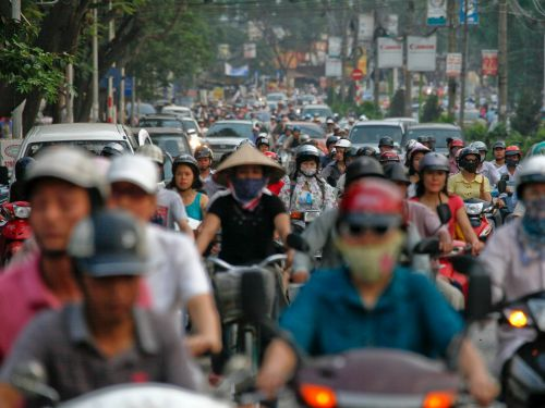 These images show how traffic is spiraling out of control around the world