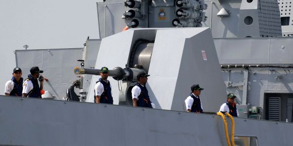 India is beefing up its navy to counter China's increasingly powerful fleet