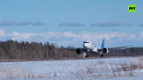 N-ice! New Russian passenger jet passes tests in freezing conditions