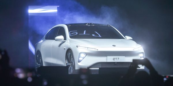 Nio falls as Chinese EV maker says chip shortage will dent second-quarter production