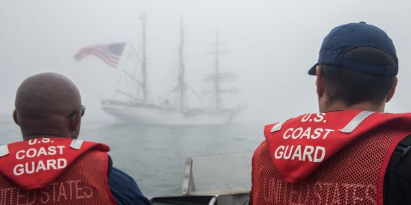 The Coast Guard is about to go without pay because of the government shutdown, but its members are still out doing missions