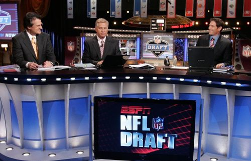 The NFL Draft will be broadcast on 3 networks for the first time and it is an enormous blow to ESPN