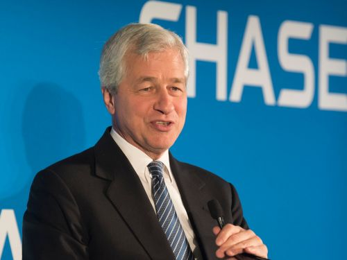 Jamie Dimon just issued a stark warning to shadow banks saddled with billions in leveraged loans
