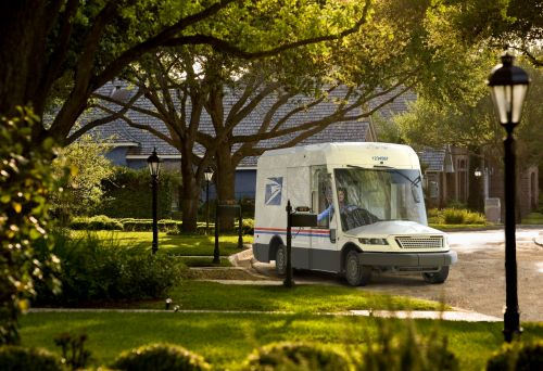 The US Postal Service revealed its first new mail truck in over 30 years - and some will be electric