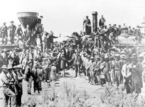 AP Was There: 1869 railroad completion ushered in new era