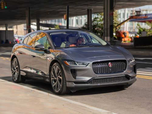 Jaguar's electric I-Pace SUV was just named the best car of 2019 - here's how it stacks up against Tesla's Model X