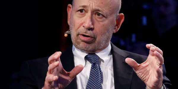Goldman Sachs has a 56% gender pay gap in the UK - and 72% when bonuses are included
