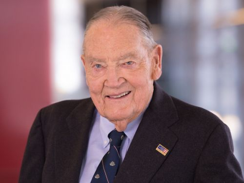 Jack Bogle said one of the 'most important landmarks' of his career was linking his employees' benefits to those of their clients