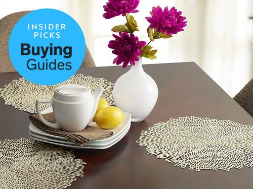 The best placemats you can buy for your dining table