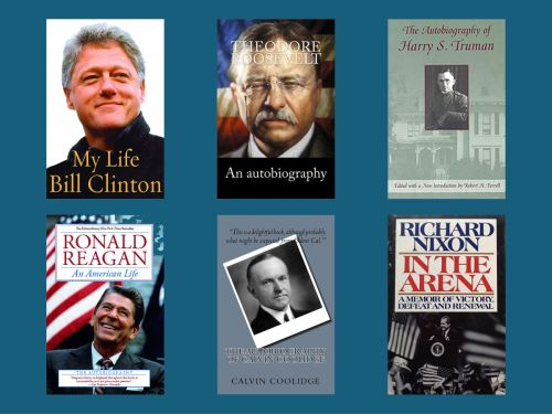 18 books US presidents have written about their time in office