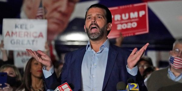 The Manhattan DA is reportedly looking into Donald Trump Jr. as part of its investigation into his dad's business dealings