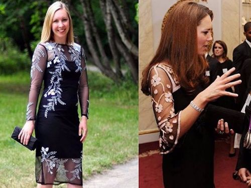 A woman figured out how to dress like Kate Middleton on a budget - and her side-by-side photos prove she's just as stylish