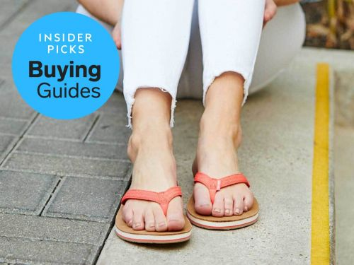 The best flip flops for men and women