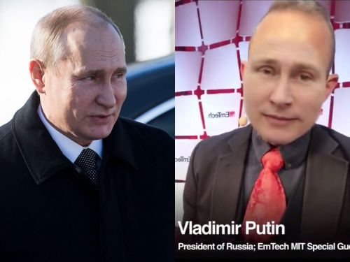 A fake interview with Vladimir Putin demonstrates how convincing deepfakes could be created in real-time in just a matter of years