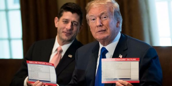 A new government report shows most Americans would get a tax cut under the GOP tax plan - but many would pay more