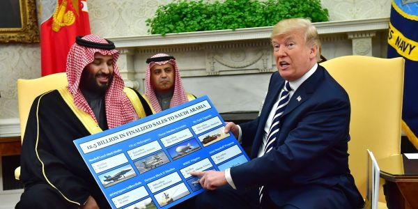 Trump is keeping Congress in the dark about his dealings with Saudi Arabia that threaten to upend the Middle East