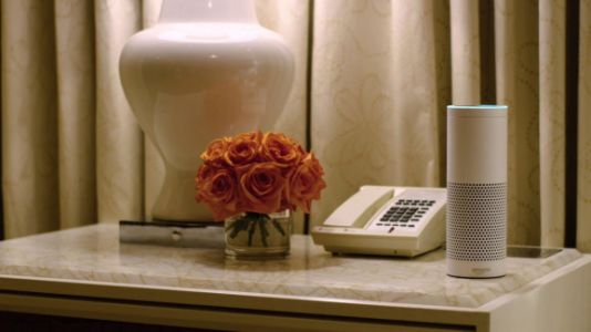 Alexa for Business can now make phone calls in hotel rooms