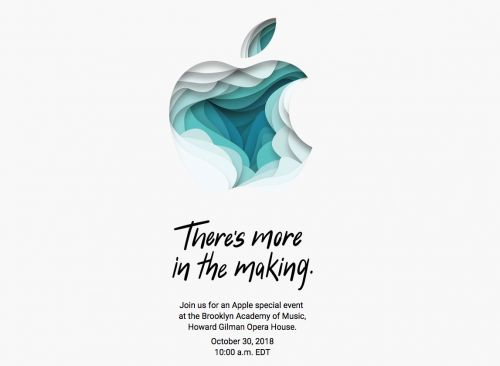 It's official: Apple sends out invitations for the new iPad event on October 30