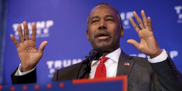 HUD Secretary Ben Carson defends his Oreo gaffe and blames people for trying to 'ridicule' him, saying 'of course' he knows what an REO is