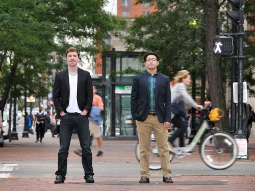 Two Harvard alums built a payment app so people can pay for rent, tuition, and even taxes with a credit card