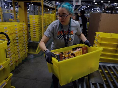 Amazon warehouse workers pee into bottles because they are scared of being punished for taking a comfort break