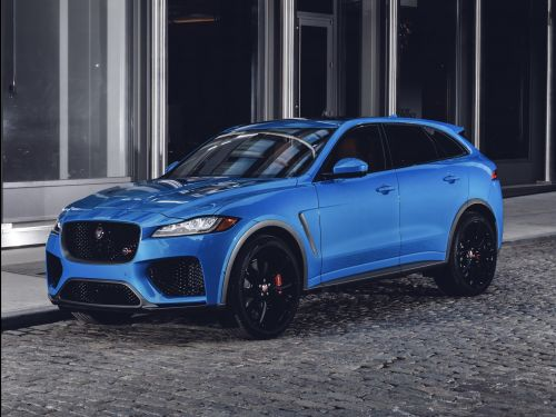 The most beautiful SUV in the world just got an extra dose of V8 muscle
