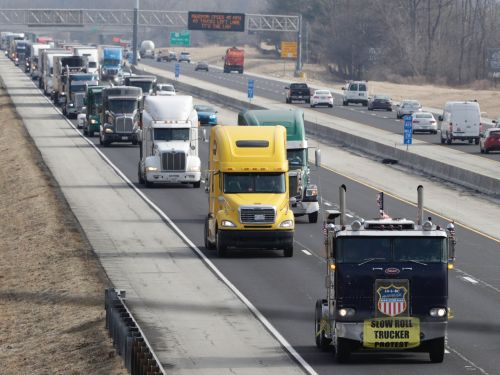 A truck driver protest that was supposed to rock Indianapolis had fewer than 80 trucks - and it's a worrying sign for the vulnerable group of workers
