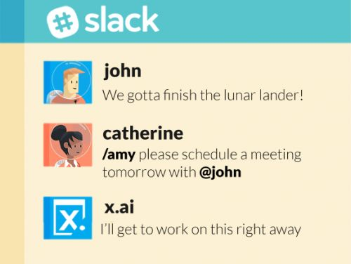 X.ai brings its scheduling bot to Slack