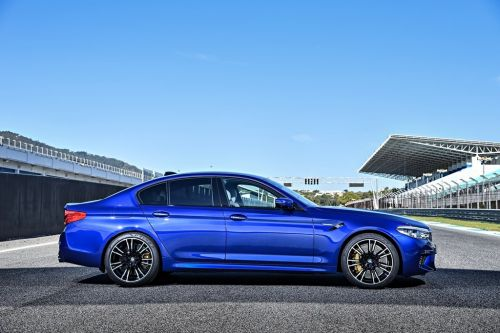 The new BMW M5's Pirelli tires redefine the whole concept of 'rubber meets the road'