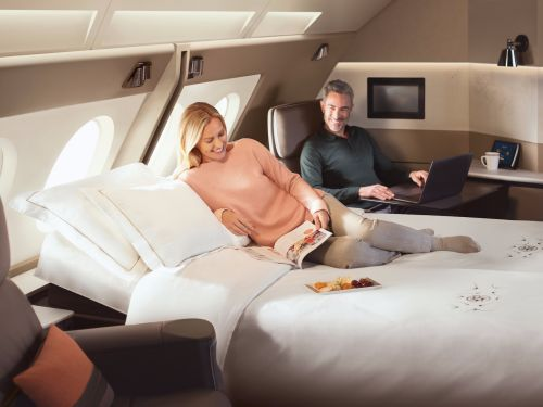 Check out Singapore Airlines' stunning new Airbus A380 luxury suites