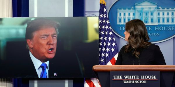 Trump says the restaurant that kicked out Sarah Huckabee Sanders looks bad and dirty