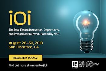 Attend NAR's Inaugural iOi Summit