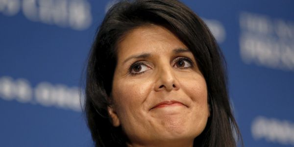 Goldman Sachs employees want to cancel a Nikki Haley interview after her Confederate flag comments