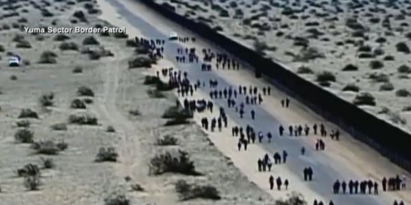 376 migrants, including 179 kids, used 7 tunnels to get under the US border fence in Arizona