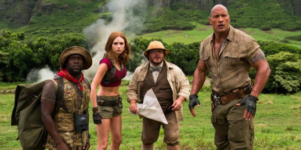 'Jumanji' just won't go away - it's No. 1 at the box office again
