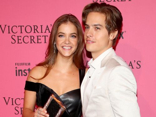Dylan Sprouse had an adorable reaction to his girlfriend Barbara Palvin walking in the 2018 Victoria's Secret Fashion Show and fans love it