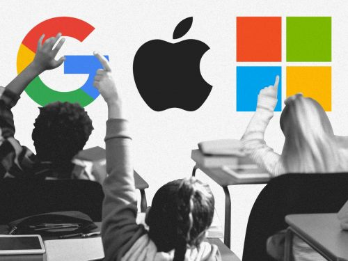 Teachers across America are obsessed with Google products - here's how Apple and Microsoft plan to win them back