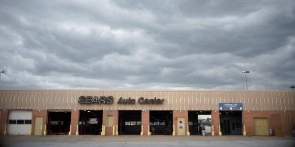 Sears expands its Amazon autos partnership as the department store struggles to survive