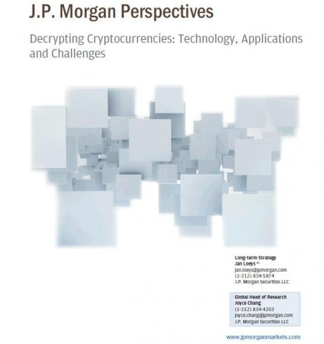 "JPMorgan Publishes Its Version Of The ""Bitcoin Bible"""